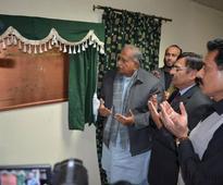 IPC Minister inaugurates gymnasium at Pakistan Sports Complex