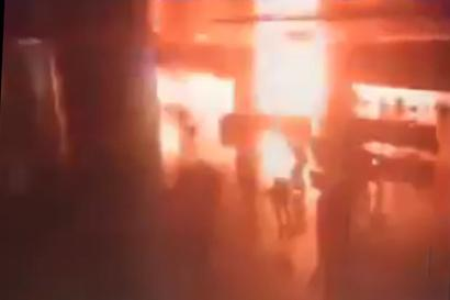 Shocking! CCTV footage shows moment of fatal explosion at Istanbul airport