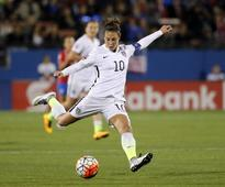 Carli Lloyd's career guided by coach James Galanis