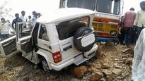 One killed in jeep-truck collision in Raibag