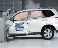 Several crossovers fare 'poor' in new crash test