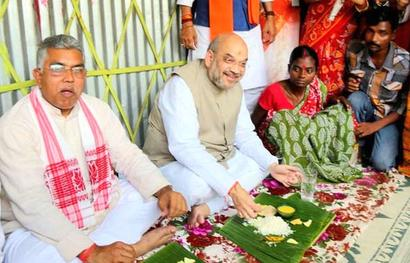 After lunch with BJP's Amit Shah, Bengal couple joins TMC