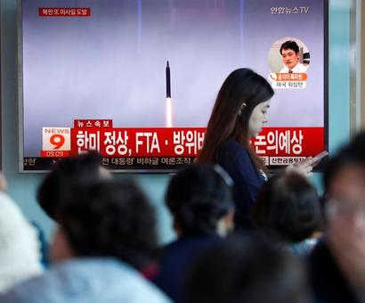 Japan takes cover as North Korea launches another ballistic missile