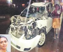 Wife of Asst Police Commissioner killed in car accident at Chalakudy