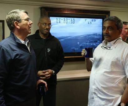 Carter, Parrikar to meet at Pentagon on Monday, may sign deal on logistics exchange