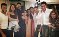 SEE PIC: When Akshay Kumar and Housefull 3 gang gatecrashed Asin's home in Delhi