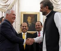 Pak PM Abbasi assures Tillerson of co-operation in war against terrorism