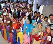 57.36% voting till 5 p.m. in 5th phase
