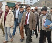 DDC reviews developmental works at Chakan-da-Bagh TFC