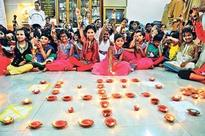 Diwali at Kamla Mehata School in Dadar