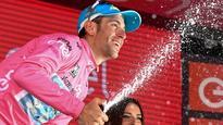 Orica-GreenEDGE get first grand tour podium