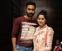 Prasanna and Sneha were spotted together at the premiere show of The Jungle book at Sathyam Cinemas in Chennai