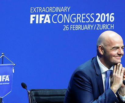 2026 World Cup bid must be 'bullet-proof', says new FIFA boss Infantino