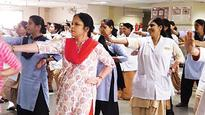 Keeping safety in mind AIIMS doctors take self defence classes