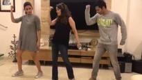 Watch: When Madhuri Dixit taught Alia Bhatt and Varun Dhawan how to do the 'Tamma Tamma' step!