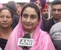 Punjab Polls: Harsimrat Badal pins hope on 'Majha' people