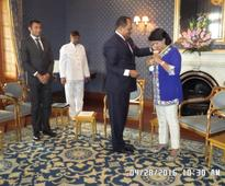 The First Female President of Mauritius recognized with the URI-Africa Peace Award