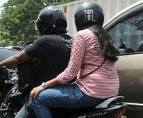 Police steer helmet crackdown to bylanes