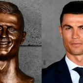 Did a Messi fan make this? - Twitter can't stop laughing over Ronaldo's 'hideous' airport bust