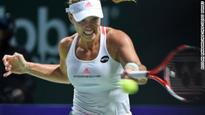 Kerber edges Halep at WTA Finals