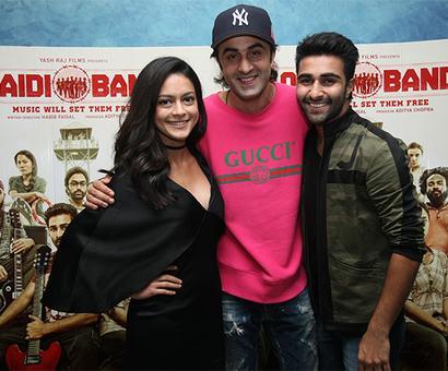 PIX: Ranbir, Karisma cheer cousin Aadar Jain