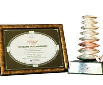 IOSIS bags the award for the Best New Spa (Day) at the AsiaSpa Awards 2012