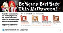 Be Scary But Safe With Decorative Contact Lenses This Halloween