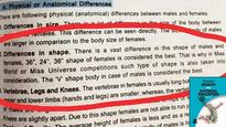 Best shape for women is 36-24-36, states Physical Education textbook
