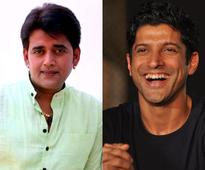Farhan Akhtar-Ravi Kishan`s camaraderie on the sets of Lucknow Central