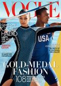 Gigi Hadid Looks Like She's Ready For the Olympics on Her First American Vogue Cover