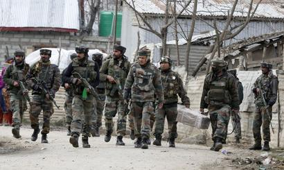 3 terrorists killed in J&K, encounter continues