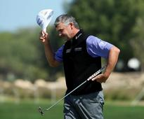 Former Ryder Cup stars out in front