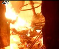Major fire breaks out at garment shop in Lajpat Nagar