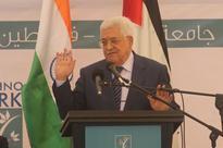 The groundbreaking ceremony of Palestine-India Techno Park