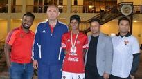 Abu Dhabi boy set for German trial, eyes Indian U-17 spot