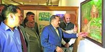 Jitendra inaugurates Jammu Art Exhibition at Delhi