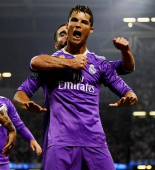 Ronaldo double sinks Juventus as Real retain Champions League title