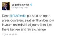 'They revealed their mindset': Rajdeep Sardesai responds to remarks against Sagarika Ghose