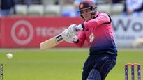 Northants batsman Newton signs new deal