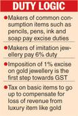 FM sticks to gold levy