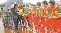 8th Shaheed Manoranjan Singh Memorial Football Tournament kicks off, TRAU beat NISA 1 0