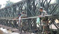 Army dismantles Enathu Bailey bridge
