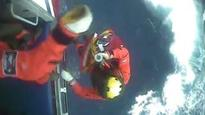 Unwell skipper winched from boat in rough seas off Lewis