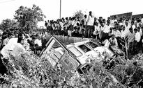 Eight killed in Bellary road accident
