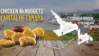 Who buys the most chicken nuggets? The answer's in N.L. according to McDonald's menu math