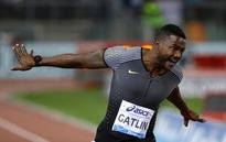 Gatlin gets another win and perfect practice for facing Bolt