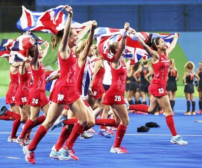 Britain dethrone Netherlands to take women's hockey gold