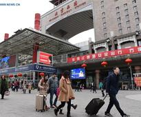 Passenger number rises as Spring Festival holiday comes to end