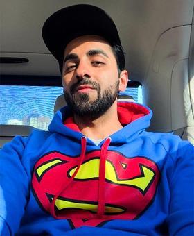'I feel like a superman but I am not'