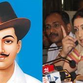 DU textbook refers to Shaheed Bhagat Singh as a 'terrorist', Smriti Irani calls it 'academic murder'